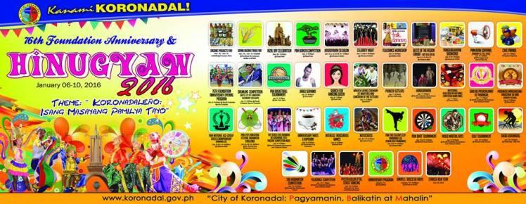 hinugyaw festival koronadal 2016